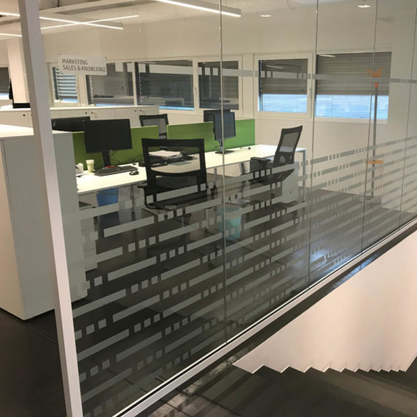 vetrata ufficio