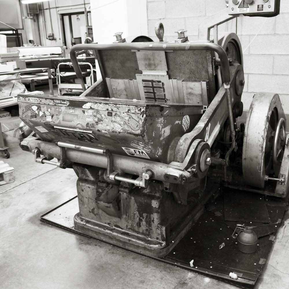 macchina per la stampa